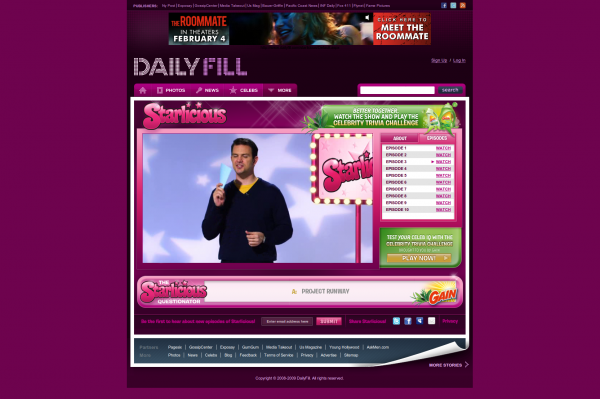 Starlicious.TV on Daily Fill
